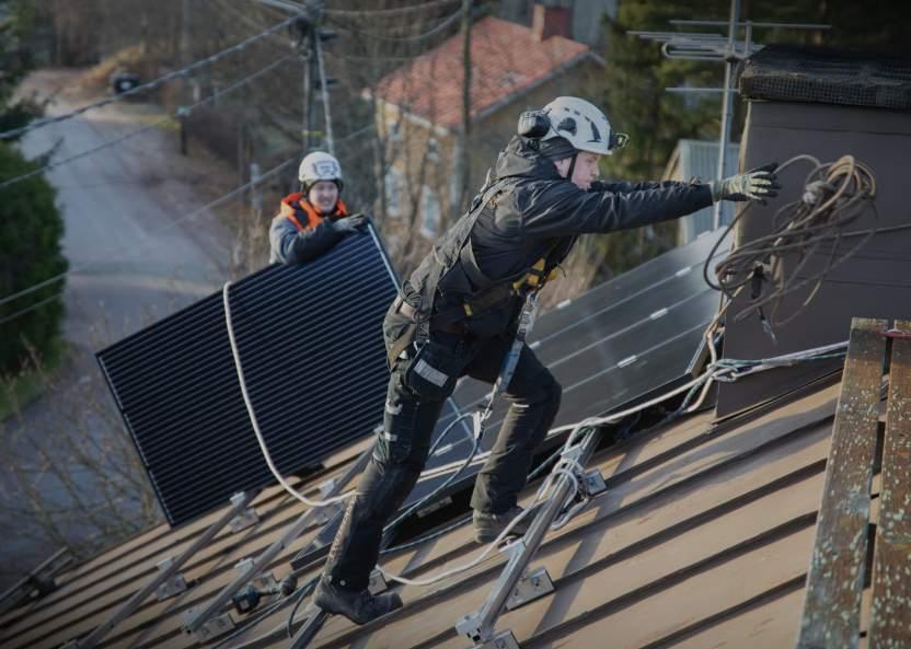 Vaskisepiltä saa nyt aurinkoenergiajärjestelmiä