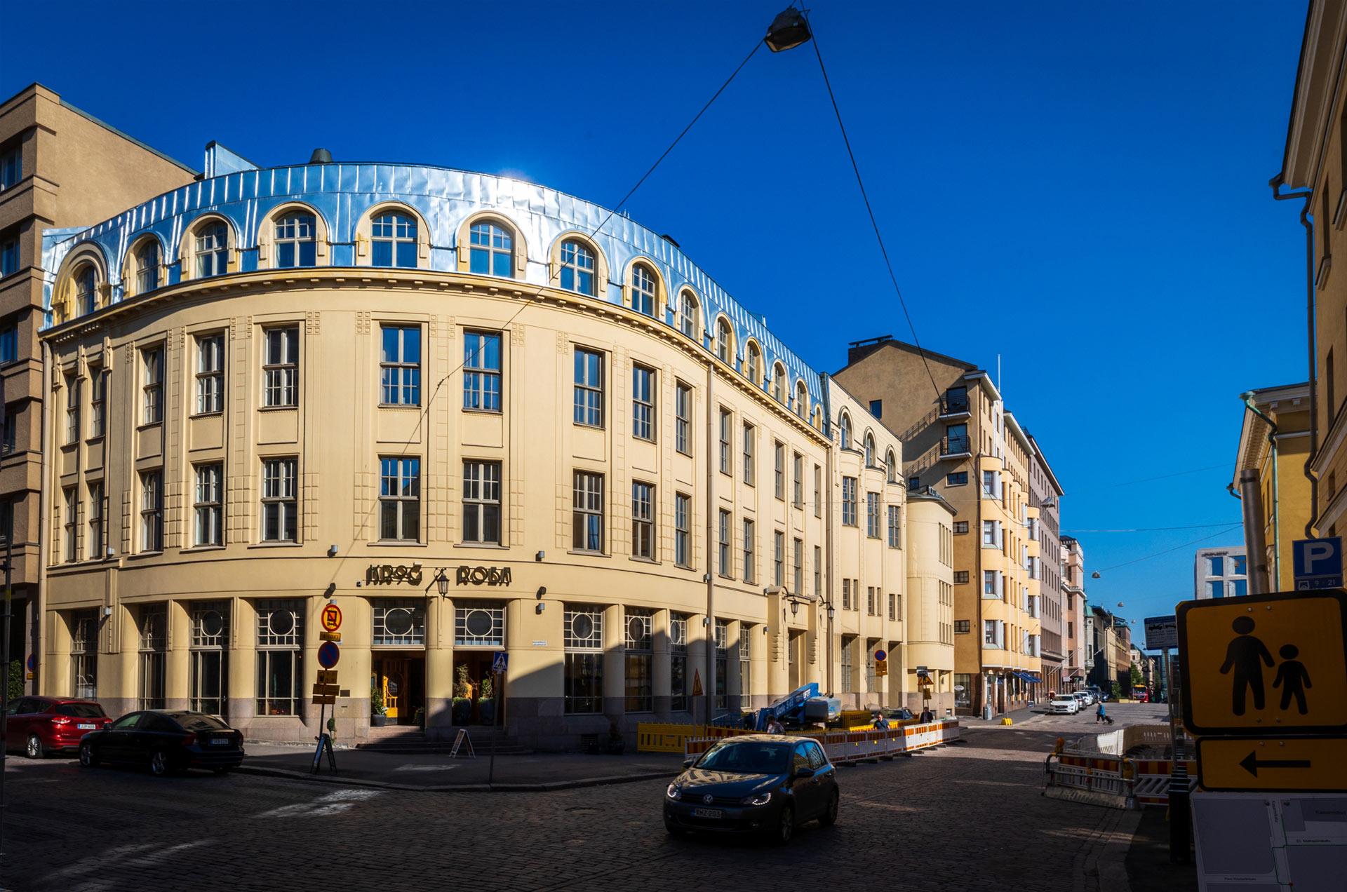 Käsityöläisen unelmakohde keskellä Helsinkiä